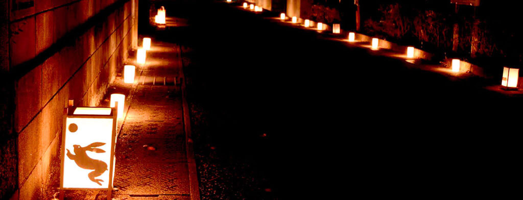 龍野・燈火会の写真